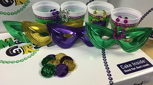 Mardi Gras Party in a Box - Enomony - ADD ON ONLY