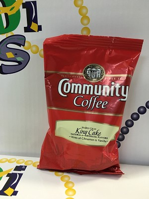 Commnity Coffee - King Cake Flavor - ADD ON ONLY