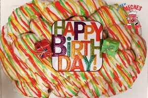 Meche's Happy Birthday King Cake  - CLICK HERE TO ORDER